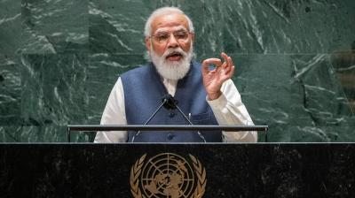 PM Modi targets Pakistan, China at UN general assembly