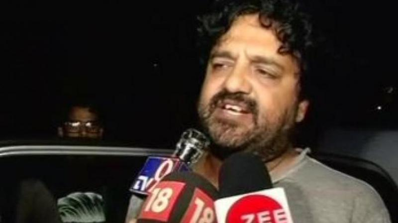 Prabhat Kathuria, the husband of Marya Zuberi, the co-pilot who along with four others was killed in the incident, is still to come to terms with the loss. (Photo: ANI)