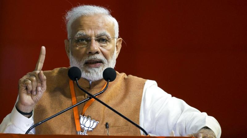 'We consider farmers as 'annadata' (provider of food), unlike the previous governments who considered them as mere vote bank,' the prime minister said. (Photo: File)