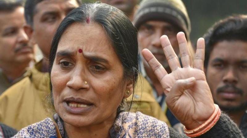 Nirbhaya's mother Asha Devi (PTI file)