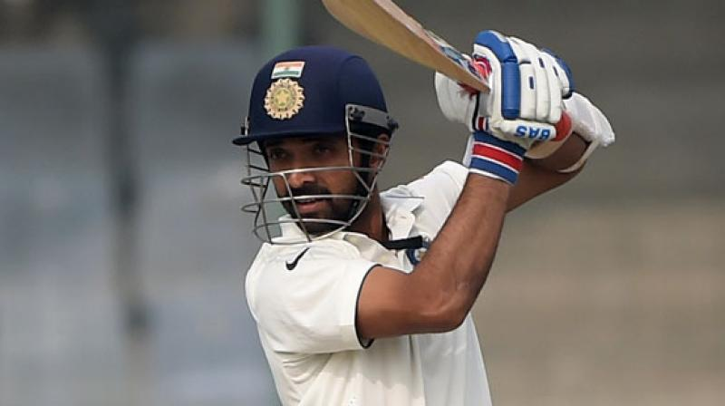 Ajinkya Rahane has not played a Test since his injury during the India-England series in December. (Photo: AFP)