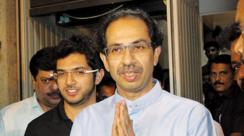 Shiv Sena chief Uddhav Thackeray. (Photo: File)