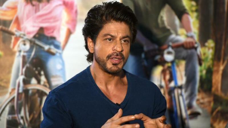 Shah Rukh Khan was last seen in 'Jab Harry Met Sejal.'