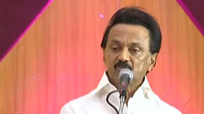 The DMK chief also promised to give citizenship to all Sri Lankan refugees in Tamil Nadu. (Photo: ANI)