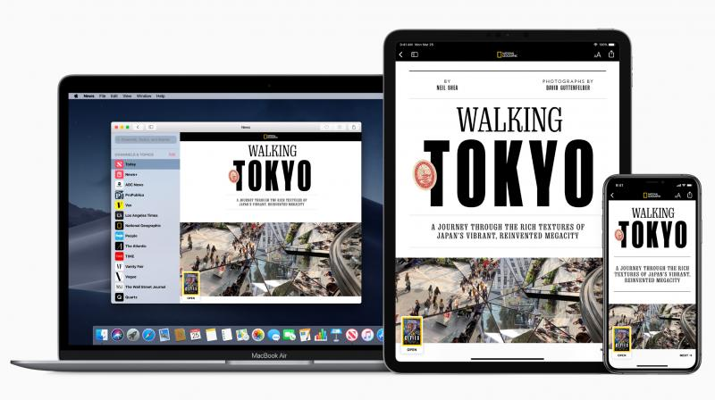 Subscribers to enjoy personalized, comprehensive access to over 300 publications within apple news.