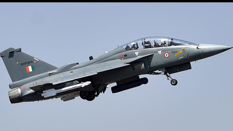 The India-made Tejas MK-1 is now said to be 'the smallest, lightweight, multirole, single-engine tactical fighter aircraft in the world'. (Representational Photo: PTI)