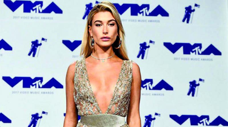 Picture of Hailey Baldwin used for representational purpose only