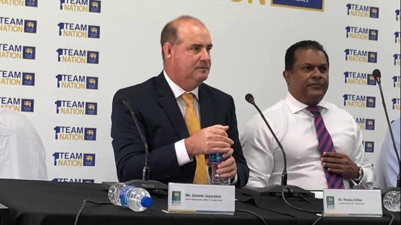 Sri Lanka's cricket board Thursday announced a major revamp of the national team after their poor showing at the recent World Cup, confirming South African Mickey Arthur's appointment as head coach. (Photo: Twitter)