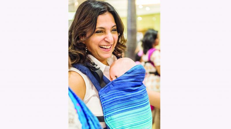 Rashmee Gajra, founder of MSL – a babywearing initiative – is the woman who kick-started all these groups, with the help of other like-minded mums.