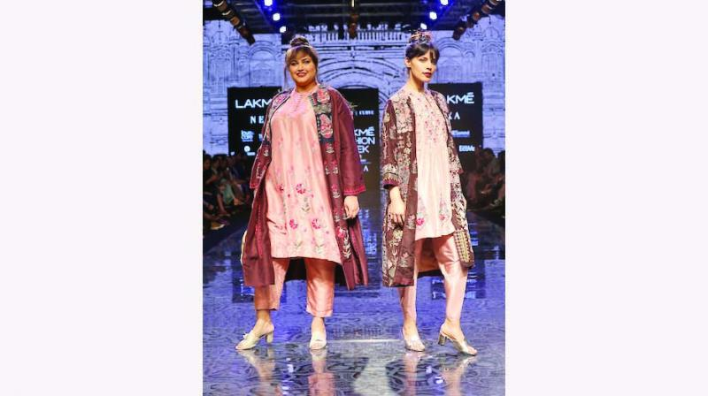 With a subtle nod towards traditional Indian shapes and silhouettes, Day 1 of Lakme Fashion Week's winter festive saw designers pushing the boundaries of Indian styles. From straight minimal cuts and traditional motifs to western influences, the designers brought their best to the runway.