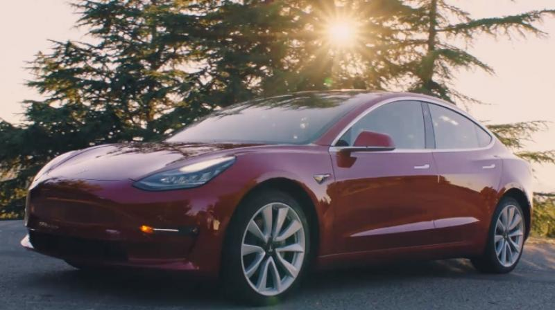 Panasonic is the exclusive battery cell supplier for Tesla's mass-market Model 3 sedan.