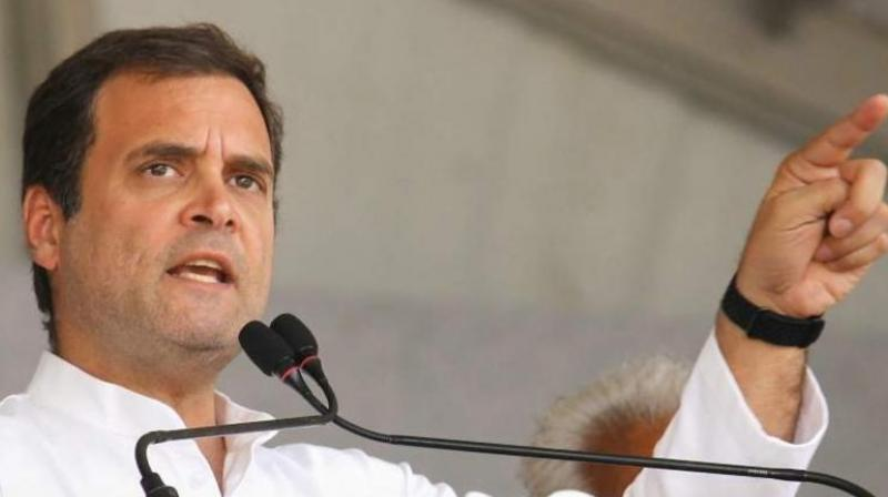Rahul Gandhi (PTI file photo)