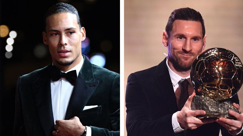 Virgil van Dijk deserved to win the Ballon d'Or instead of losing out to Lionel Messi, Liverpool manager Juergen Klopp said on Tuesday. (Photo:AFP)