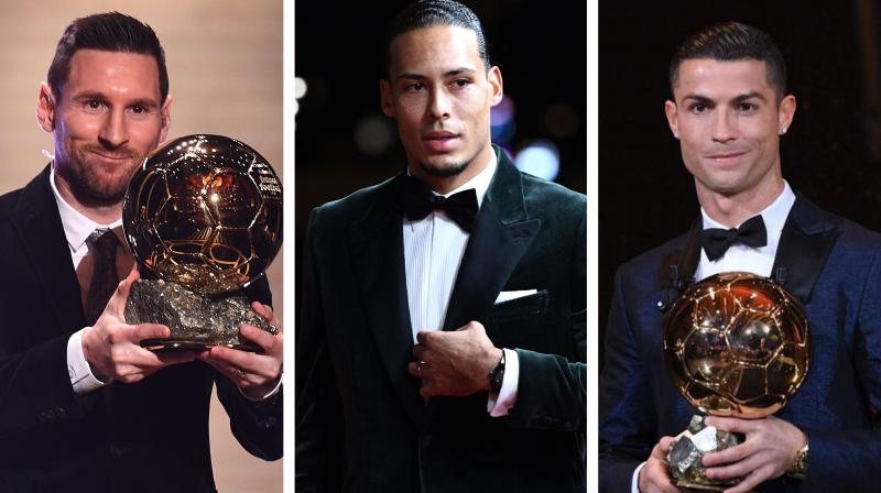 After missing out on the Ballon d'Or, Liverpool defender Virgil van Dijk released a statement saying that it was an honour for him to be nominated for the award alongside Lionel Messi and Cristiano Ronaldo. (Photo:AFP)