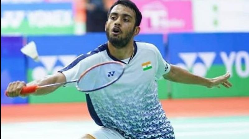 After winning the silver medal at Syed Modi International Badminton Championships, Indian Shuttler Sourabh Verma on Tuesday jumped to career-best ranking in the latest released men's singles BWF rankings. (Photo:Twitter)