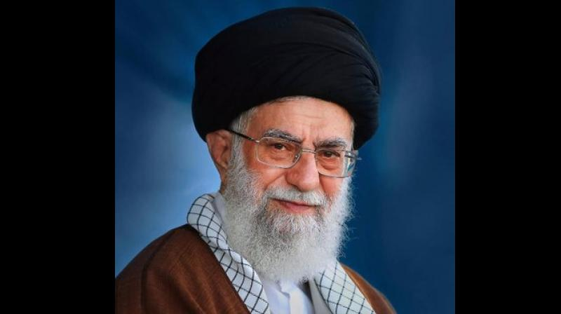 'The current situation in Kashmir and the disputes between India and Pakistan regarding it are a result of the vicious British government's measures while leaving the Indian subcontinent,' the leader tweeted. (Photo: Twitter | @Khamenei_ir)
