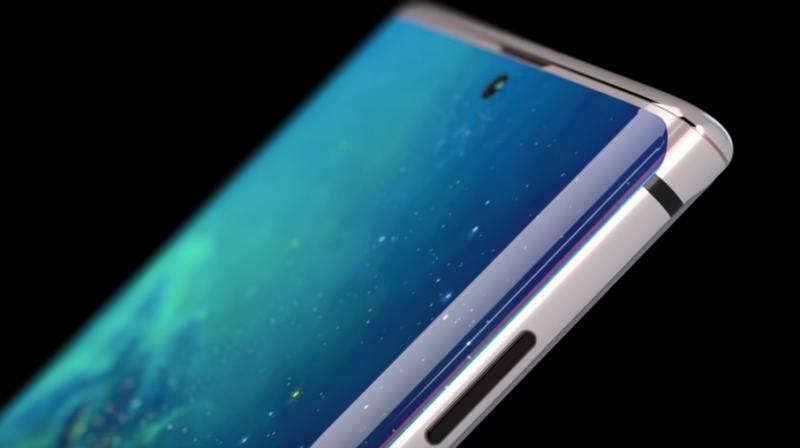 The concept renders show off the various elements that have been rumoured thus far of the Galaxy Note 10.