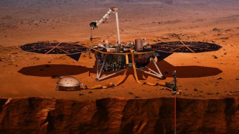 Although the seismic event was too small to provide solid data on the planet's interior, the seismometer on the InSight will enable scientists to gather similar data. (Photo: ABC)