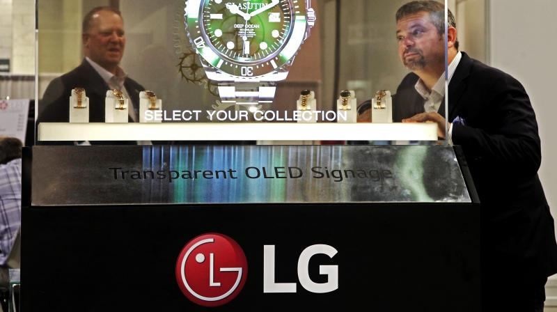 LG admitted that its Q1 revenue declined this year as compared to the same period in 2018. (Photo: AP)