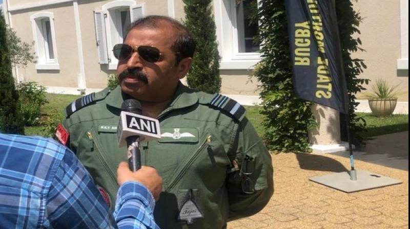 'Once the Su-30MKI and the Rafale start operating together, it will be a potent combination against our adversaries, be it Pakistan or anybody else,' said Indian Air Force Vice Chief Air Marshal RKS Bhadauria. (Photo: ANI)