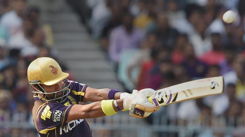 Kolkata Knight Riders' batsman Robin Uthappa. PTI Photo
