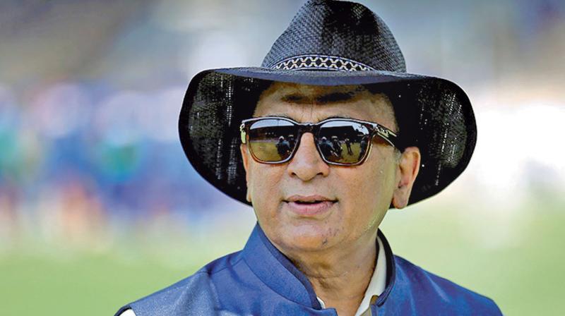 Former India skipper Sunil Gavaskar. DC File Photo