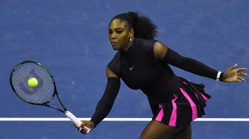 Serena Williams withdrew from the Cincinnati Masters on Tuesday due to back problems just days after spasms forced her to retire from the Rogers Cup final in Toronto. (Photo: AFP)