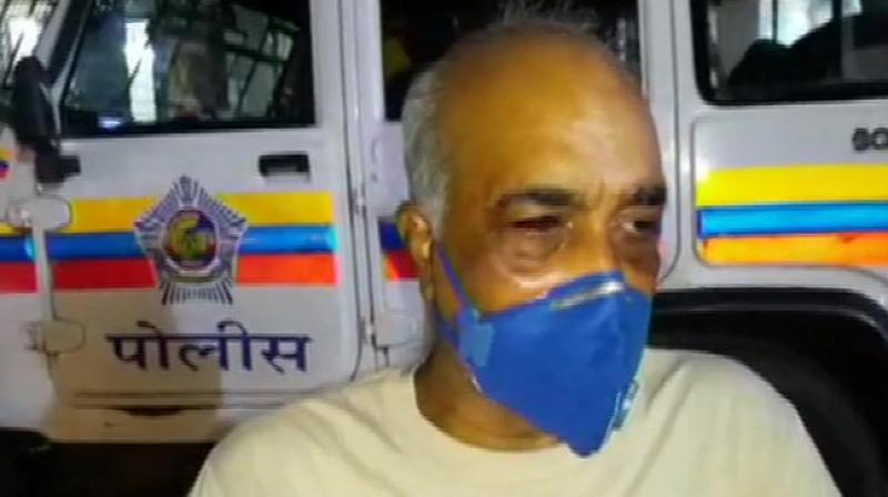Retired Navy officer Madan Sharma. (ANI)
