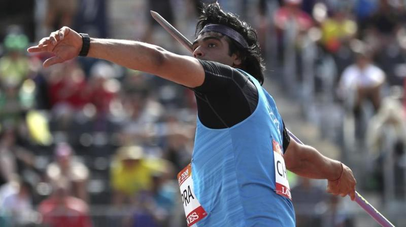 Neeraj was favourite for gold here after his 85.94m throw last month at Patiala during Federation Cup National Championships. (Photo: AP)