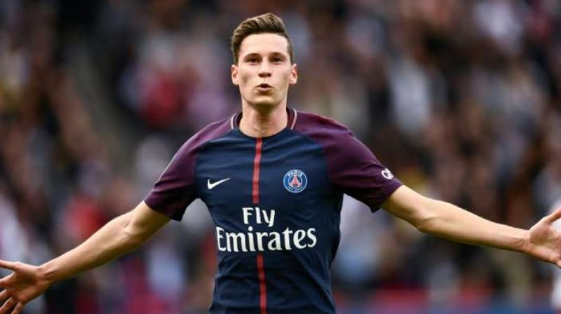 Draxler, who earned his 50th cap in Germany's 2-0 win over Belarus last Saturday, has been in and out of the PSG first eleven since joining the club in 2017. (Photo:AFP)