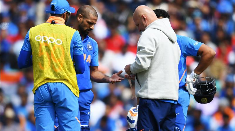 While it is blow to the team ahead of India's third game against New Zealand, the good news is there is a chance that he will recover and therefore, the team management has not sought for any replacement. (Photo:AFP)