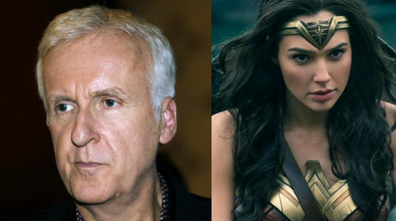 James Cameron had got flak for his comments on 'Wonder Woman.'