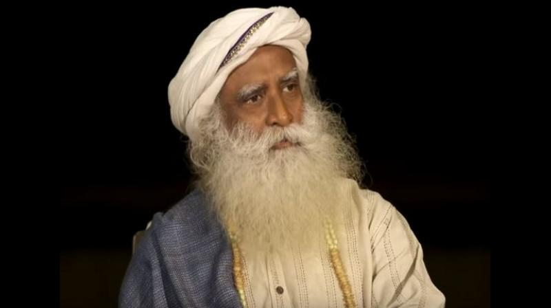 Sadhguru went on to say that the situation on the other side is 'different because by law there is discrimination against the minorities.' (Photo: ANI)