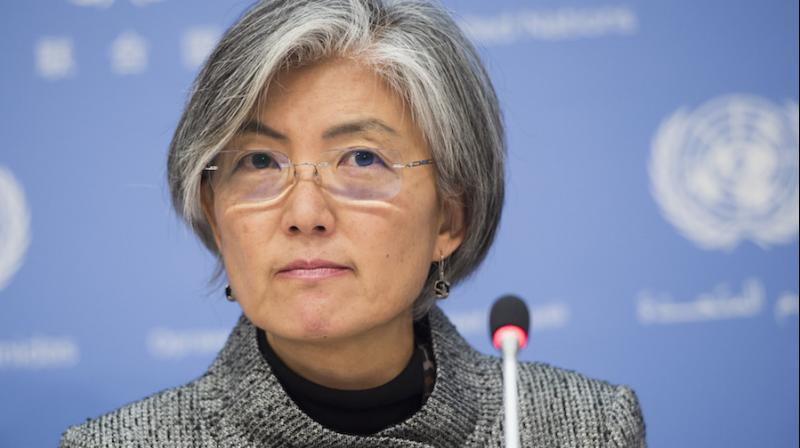 South Korean President Moon Jae-in appointed Kang after the opposition-led parliament failed to issue a report on the outcome of its confirmation hearing for her. (Photo: United Nations)