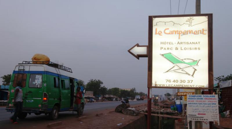 Suspected jihadists attacked the hotel resort Sunday in Mali's capital, taking hostages at a spot popular with foreigners on the weekends. (Photo: AP)