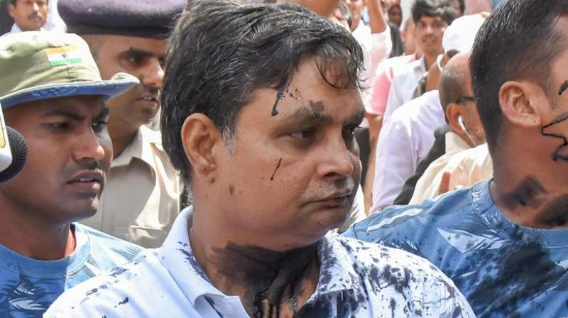 Brajesh Thakur, owner of the NGO which ran the home, and around 20 people were named as accused in the CBI's chargesheet.  (Photo: PTI)