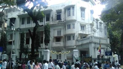 Mumbai: Mumbai police have registered an FIR against unknown persons following vandalism at Rajgruha, Dr Babasaheb Ambedkar's house, an official said