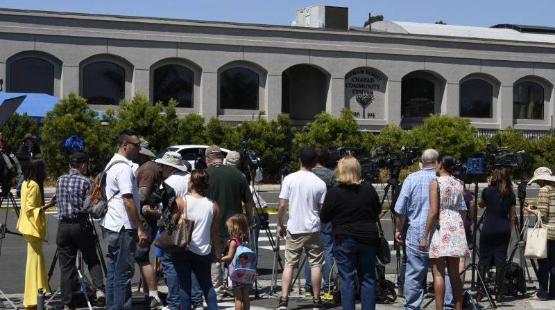 The shooting in the town of Poway, north of San Diego, came exactly six months after a white supremacist killed 11 people at Pittsburgh's Tree of Life synagogue. (Photo:AP)