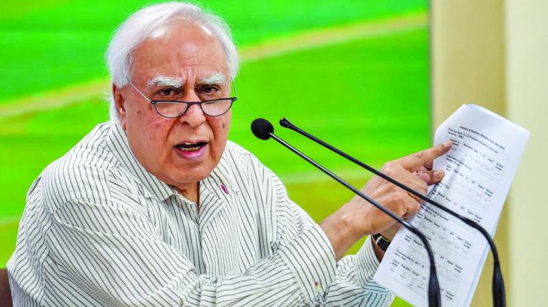Senior Congress leader Kapil Sibal (Photo: PTI)