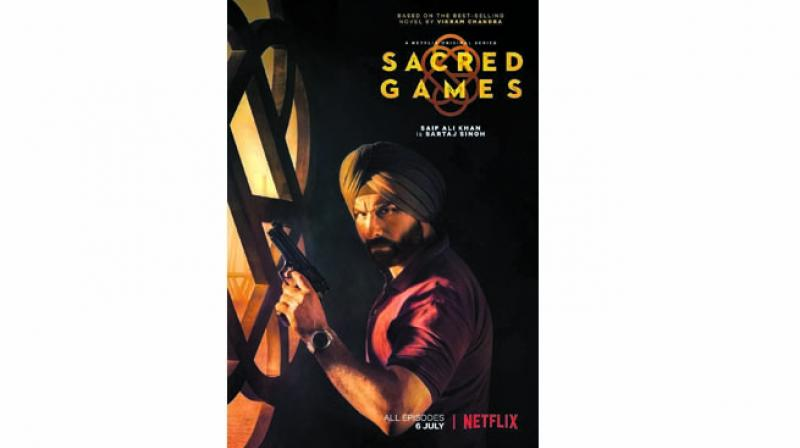 The poster of Sacred Games
