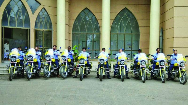 Bike Ambulances