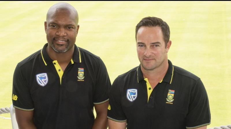 Former Test wicketkeeper Mark Boucher was on Saturday named as South African team head coach until 2023.  An upbeat Boucher said South African cricket had been through 'trying times' but added that he was confident that the national team could be successful against England. (Photo:AFP)