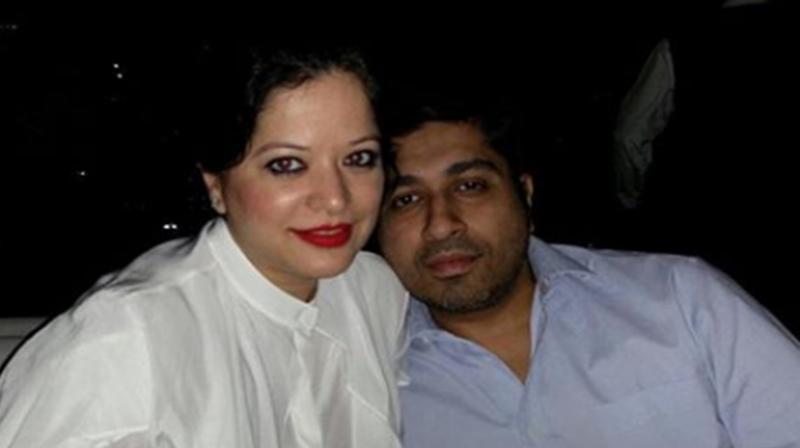 Arzoo Govitrikar with husband Siddharth Sabbarwal. (Photo: Instagram)