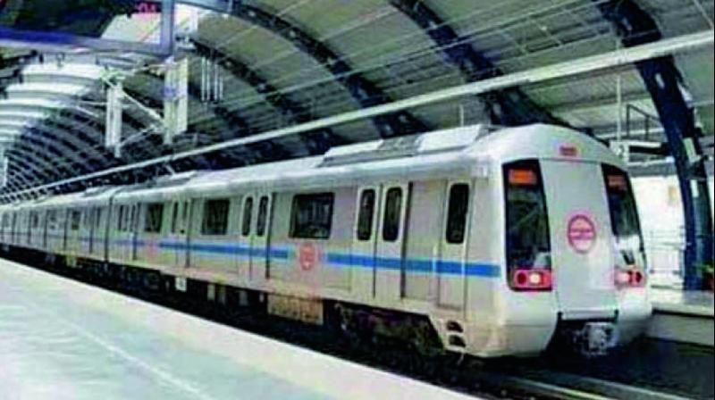 On July 10, services were affected for nearly an hour on the Violet Line due to a technical snag between Mandi House and ITO metro stations.(Photo: File)