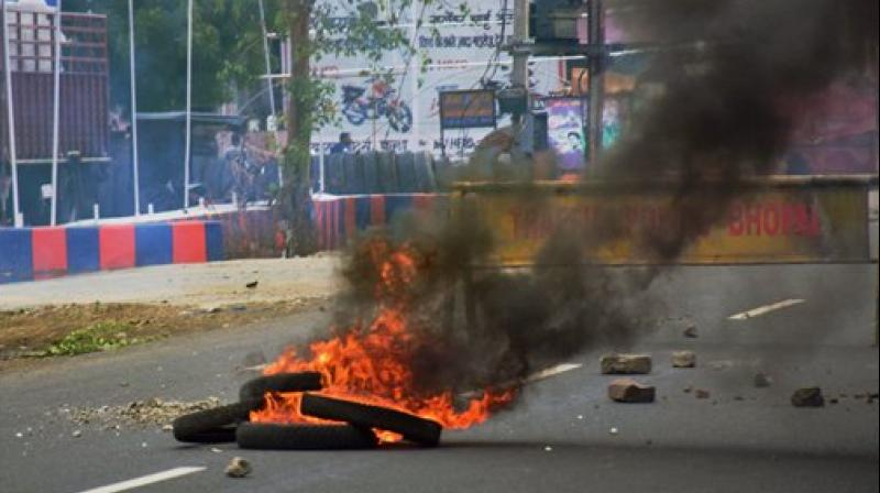 The farmers' protest, which began on June 1, took a violent turn on June 6, when five agitators died in police firing at Mandsaur. (Photo: PTI)