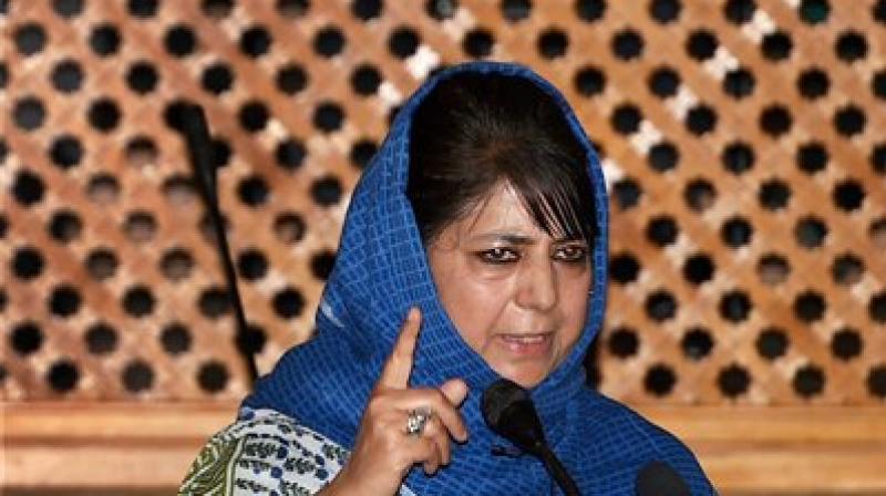 Jammu and Kashmir Chief Minister Mehbooba Mufti (Photo: PTI)