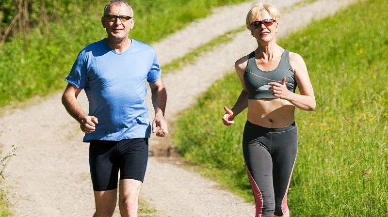 The World Health Organisation recommends that adults aged 18 to 64 do at least 150 minutes of moderate-intensity aerobic physical activity throughout each week (Photo: AFP)