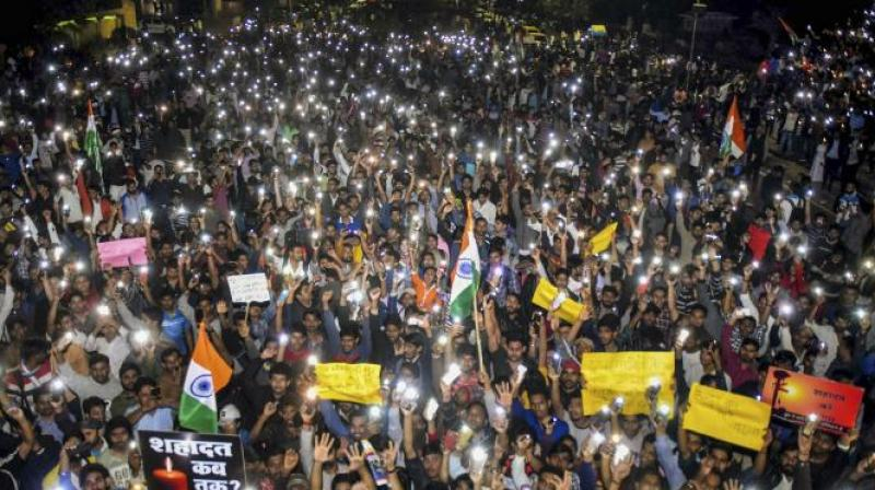 A candlelight protest will be held outside the Pakistan Consulate in Chicago after which the protesters will march to the Chinese consulate. (Photo: PTI | Representational)