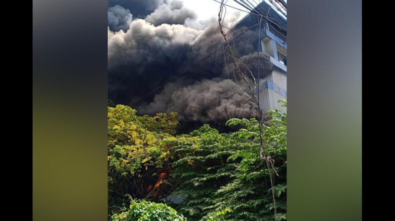 No injuries or casualties have been reported so far. (Photo: ANI)
