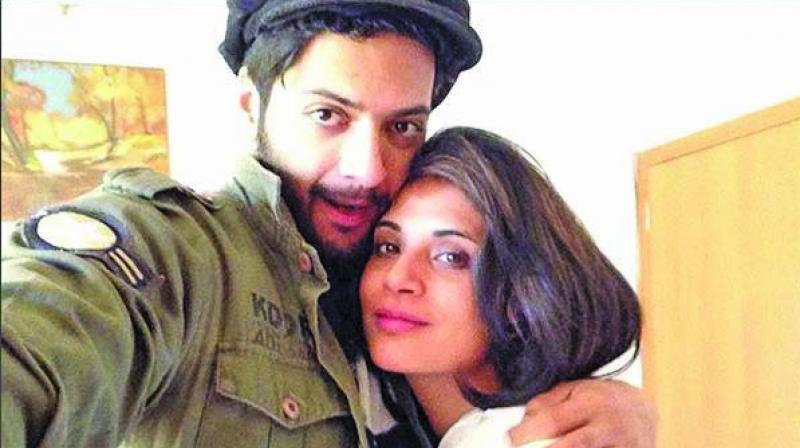 Ali Fazal and Richa Chadha
